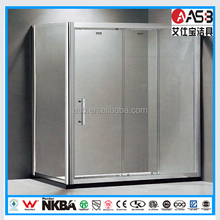 Electroplate Frame Surface Finishing Portable Sexy Dubai Shower Room