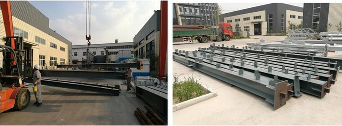 Prefabricated steel structure office and public building/Modern engineering steel structure office