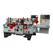 Four side moulder / four side planer with 4 spindles or 5 spindles with adjustable speed