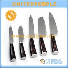 best selling Japanese Damascus Stainless Steel Kitchen Chef Knife Knives Set