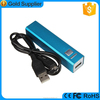 Promotion gifts items mobile phone charger universal 2600 smart power bank