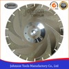 105-300mm Double Side Maple Leaf Electroplated Diamond Saw Blades for Marble and Granite Cutting