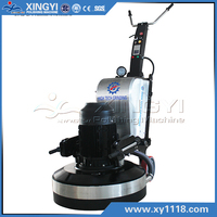 planetary concrete floor grinder with vacuum