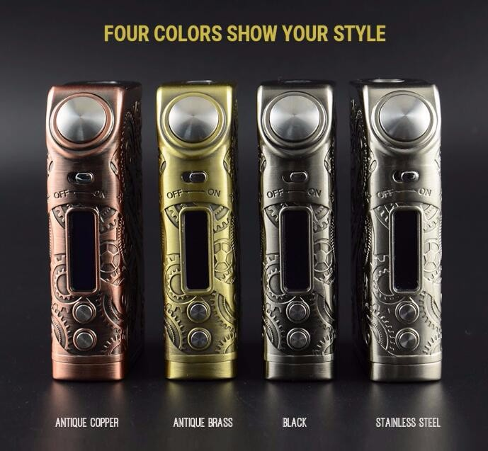 Teslacigs Steampunk Style Tesla Nano 120W Vapor Wholesale with Fast Delivery