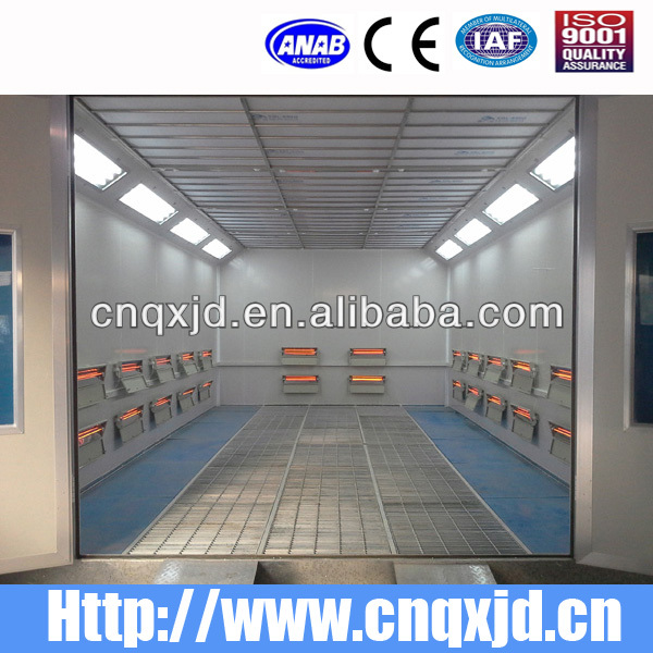 Infrared Hot Heated Spray Booth Bake Oven For Car Paint
