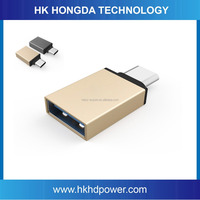 Cell phone accessories USB 3.1 USB type-c Adapter Date Converter