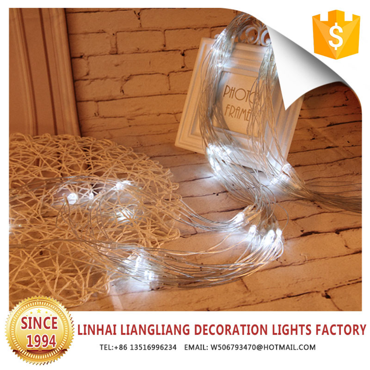 2017 new product birthday party decoration warm white led christmas net lights