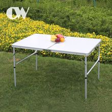 wholesale chinese camping foldable aluminium 4 feet lightweight portable white outdoor restaurant tables chairs