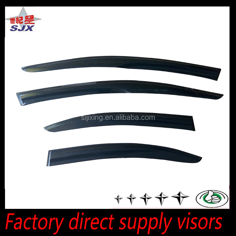 Window visor for renault-9 black mugen style rain deflector