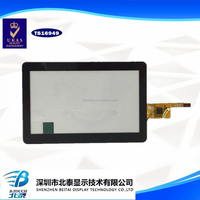 China customized 7 inch projected capacitive HMI touch panel touch screen