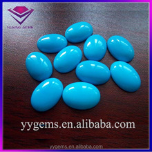 rare natural persian Iran sleeping beauty turquoise gemstone oval cut cabochons for women men ring