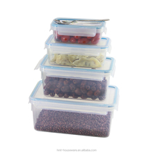 pp wholesale 0.55L clear plastic food preservation box food container