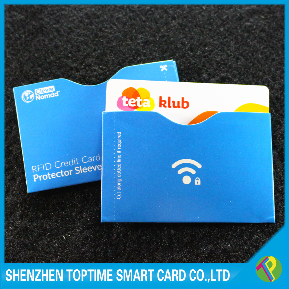 rfid blocking card top identity secure protection for smart holders/fit wallet /purse /cell phones