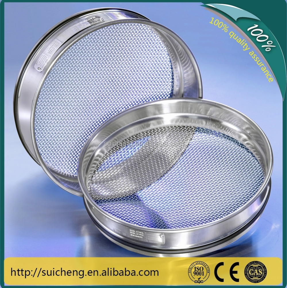 Guangzhou Factory 200mm 300mm <strong>Stainless</strong> Steel Testing Sieves