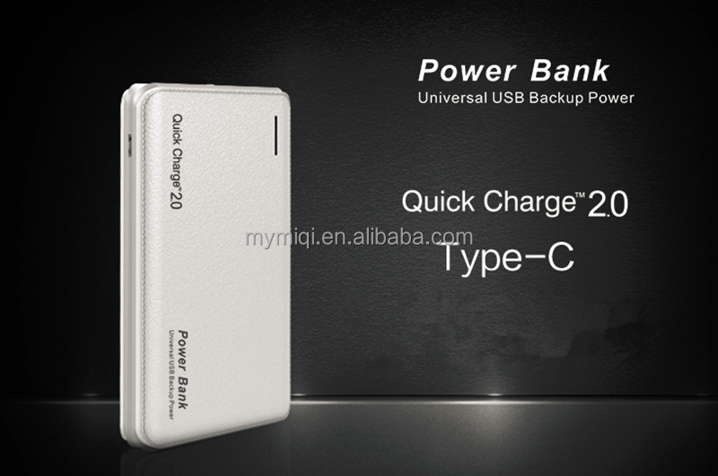 10000mah type C interface fast charging power bank universal backup power