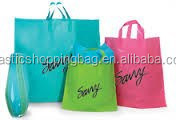 Cheap OEM Plastic Tote Carrier Bag Custom Printed Bag