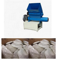 Compress block crusher Eps foam hot melting densifier machine