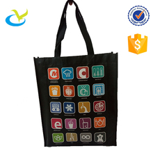 Factory direct sale embossed free eco-friendly material rpet non woven grocery tote bag carry all with custom logo print