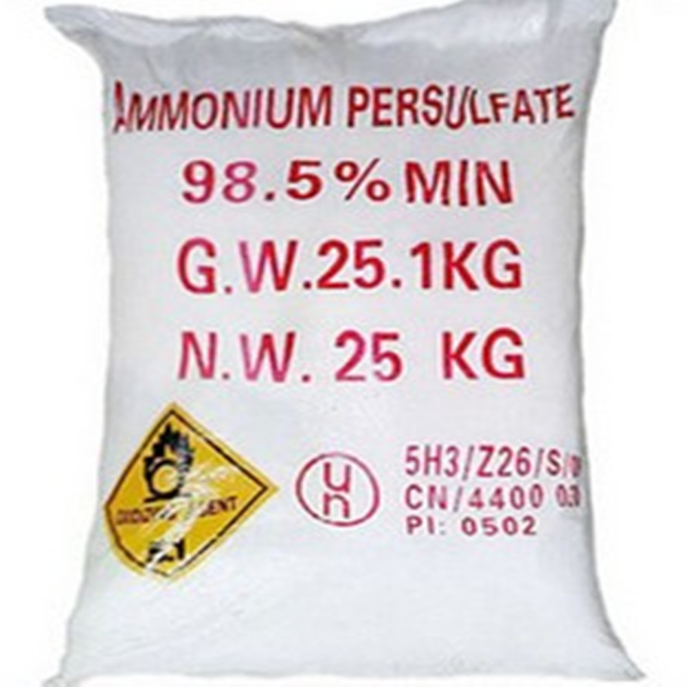 Remove the hypo agent APS Ammonium persulphate