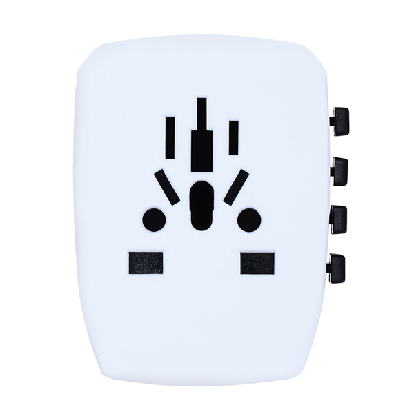 USA Europe hot sale travel adapters electrical plugs adapter durable multi usb adapter