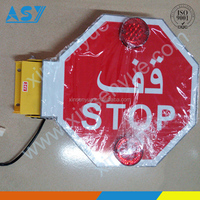 Arabic Market School Bus Electric Stop Sign Hot Sale
