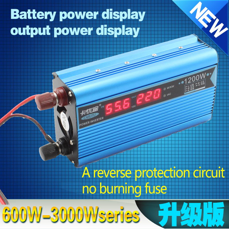 60VDC to 220VAC 1200w modified solar power inverter dc inverter