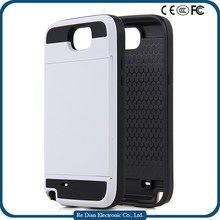 High Quality 2 in 1 Hybrid Soft TPU Plastic PC Shockproof Mobile Phone Case Covers for Samsung G7100