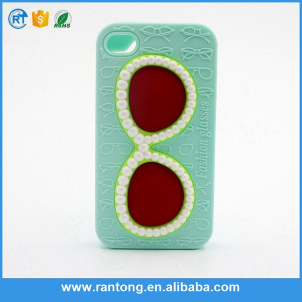 New arrival fine quality silicone phone case for iphone 6/ 6s made in china