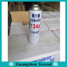 Small can Gross weight 800g maxron R134a gas refrigerant with leak sealer