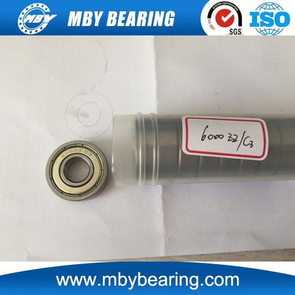 Low noise Machine bearing deep groove ball bearing 6302