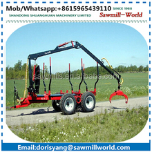 log loader trailer