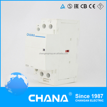 DC/AC Electromagnetic 4poles 16a Auxiliary Modular Contactor
