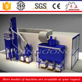 Scraper type sand blasting booth used cars sandblasting room price for sale