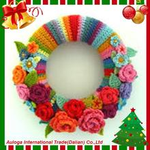 New design christmas wreath snowman with fast delivery