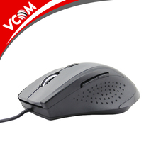 2017 computer accessories high quality FCC standard optical USB wired mouse