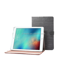 2017 Newest Brief Wood Pattern Flip Folio Full Protective case leather stand tablet case for iPad Pro 10.5''