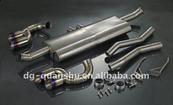 titanium exhaust for cayenne muffler2006