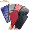 New fashion leather cell phone case for iphone7 genuine crocodile embossed leather mobile case for iphone 7plus cover wholesale