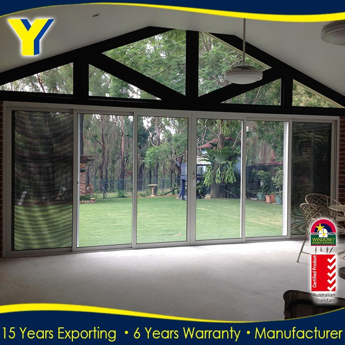 Aluminium Fly Screen Door/Double Glazed Aluminium Windows And Doors Comply with Australian Standards AS2047 AS2208
