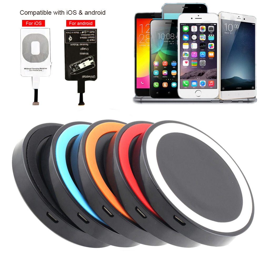 New product qi wireless charger fantasy for samsung s8 for iphone 7 wireless charger