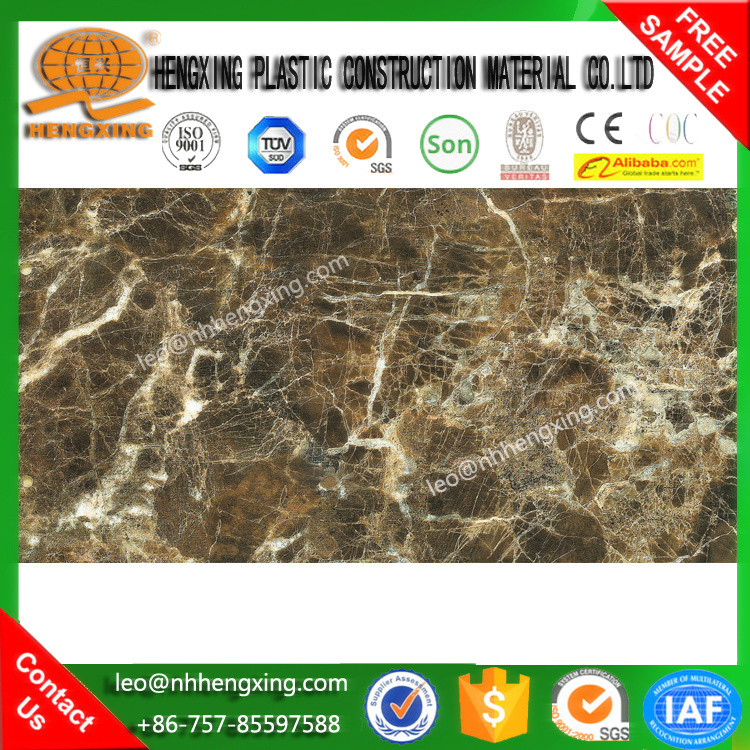 ECO water proof corrosion resistance walling decorative UV marbling panel