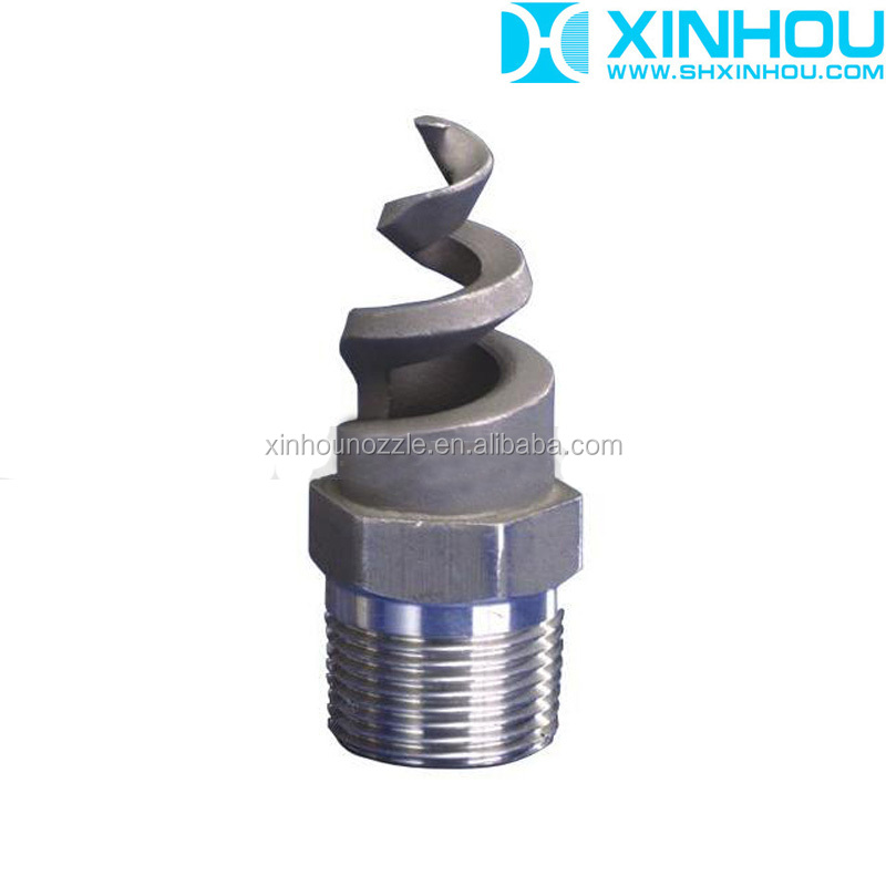 Male female connection standard fine atomization helix nozzles