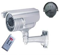 IR Waterproof CCTV Camera Supports Micro SD Card