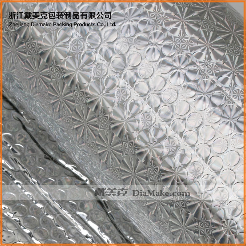 Reflective insulation laminated high flame retardation House Wrap Shield Underlayment