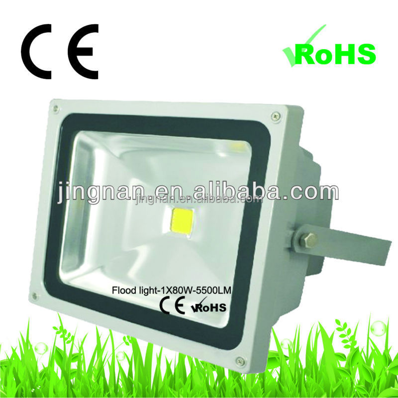 professional produced factory 110-240V high power LED floodlight 80W for outdoor