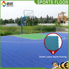 Superior quality pp interlocking self adhesive plastic floor covering