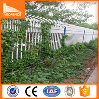 40x40mm rail and 50x50mm post used hot dipped galvanized material steel 25x25mm upright picket fence