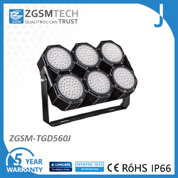 High Power 280W 560W 840W LED High Mast Light for Outdoor Stadium Lighting