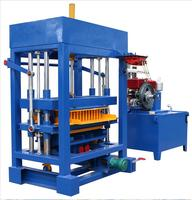 QT4-40 Diesel Engine Auto Concrete Cement Bricks Making Machine Block And Brick Making Machinery Price For Sale