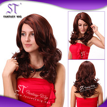 Quality guaranteed japanese synthetic fiber fibre hair full lace wig